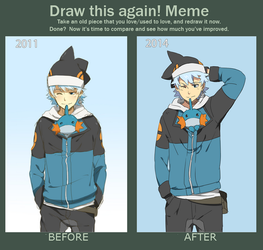 Progress meme thingy 2 by danzzila