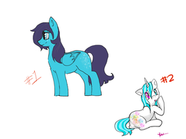 Pony adoptables by Hakues-sparkle-dream