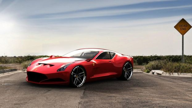 2017 Ferrari 612 GTO CONCEPT REVIEW by ROGUE-RATTLESNAKE