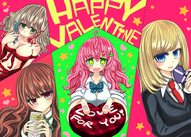 Happy-valentine 2016! by kagari0930