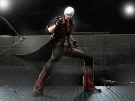 #Sparda's son ... by DemonLeon3D