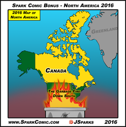 Spark Comic Bonus -  North America 2016 by SuperSparkplug