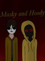 Masky and Hoody by Pinkwolfly
