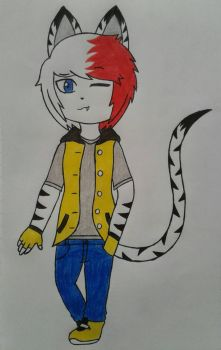 Ciel tiger oc by Lobita02