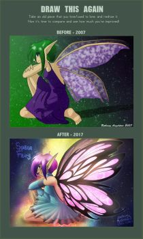 Draw This Again - Space Fairy by BethanyAngelstar