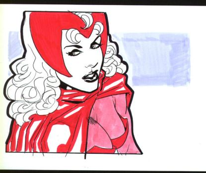 Scarlet Witch by Roadkill-Catthouse