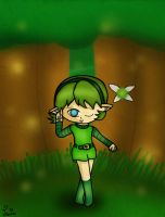 Commission: Saria by Jrynkows