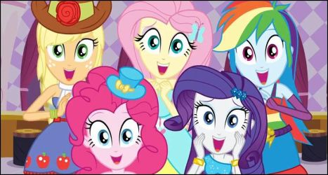 My Little Pony Equestria Girls moments 24 by Wakko2010