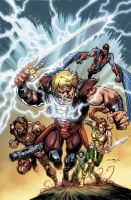 He-Man 7 Cover by Cinar