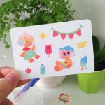 Mini sticker sheet Summer by ieafy