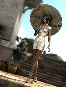 080214 Streets Of Asia by digitalgreenlifeart