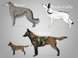 Dog Adoptables - closed by Fall-of-rain