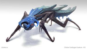 CronLychma - creature concept by Cloister