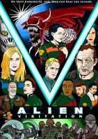 Alien Visitation cover by Jarol-Tilap