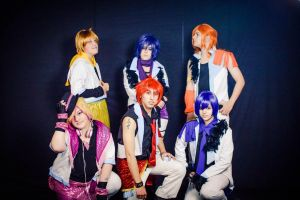 Uta no prince full team! by ButtersAnKau