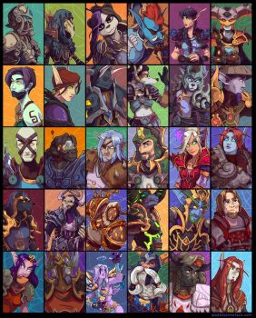30 WoW Characters (part 4) by emily-lorange