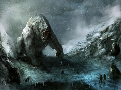 Abominable Snowman by TomEdwardsConcepts