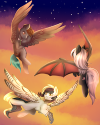Twilight Flight (YCH Complete) by Naughty-Savage