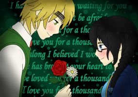 Flowerpower71 birthday present: A Thousand Years by Aralyn187