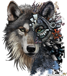 Save the wolf by Sunima