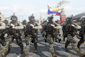 Battlefield 4 - Capture of Moscow by BarabanRUS