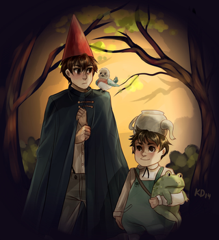 over the garden wall by kkatelyn