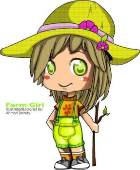 farmer girl by Akkurio