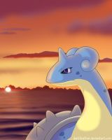 Lonely Lapras