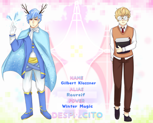 .:Despa-cito - Gilbert Klossner by kent-chii