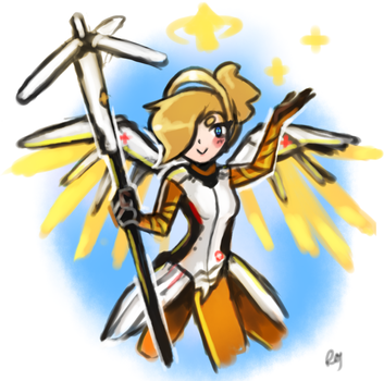 Mini Mercy by RoyaleMay