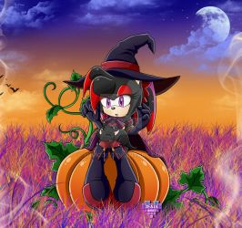 Midnight the Halloween Witch by YukiCos