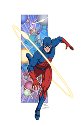 Atom commission by phil-cho