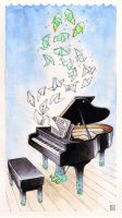 Piano Dream by bleuphoria