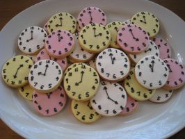 Clock Cookies by Kiilani