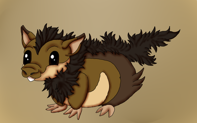 Fakemon 02 - Gunemo by ShedragonArtist