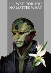 Thane Krios by LoranDeSore