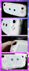 Wii U gamepad plushie! by Tri-Heart