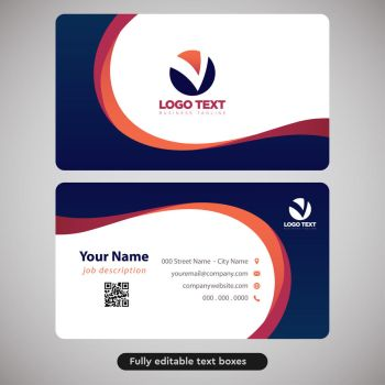 Corporate business card for multiple purposes by coddih