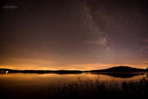 Lough Gille Starry Night 2 by Creative--Dragon