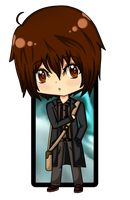 :: Chibi WWII Keith :: by keithyboo