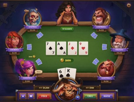 Poker Game Concept by NestStrix