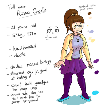 [Character Ref] Rayna by Semi-Stick