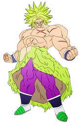 Broly 2018 by obsolete00