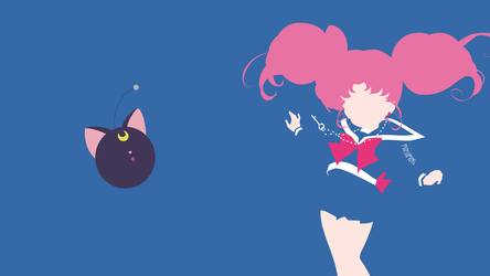Chibi Usa from Sailor Moon Crystal | Minimalist by matsumayu