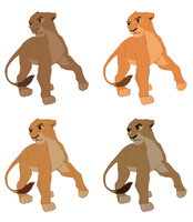 Lion King Adoptables Base by PiperInle