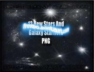 Stars PNG New render set 2 by FrostBo
