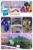 Hasbro Commissioned Custom Ponys by BazSg