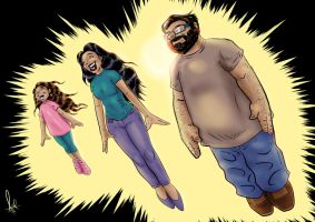 Super Family Colored by azzh316