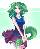 :A: Dog Girl bid [closed] by Melody-Musique
