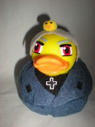 Prussia Rubber Duck Close Up by Oriana-X-Myst